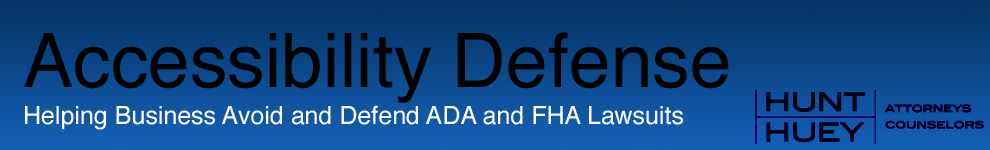 ADA and FHA Defense