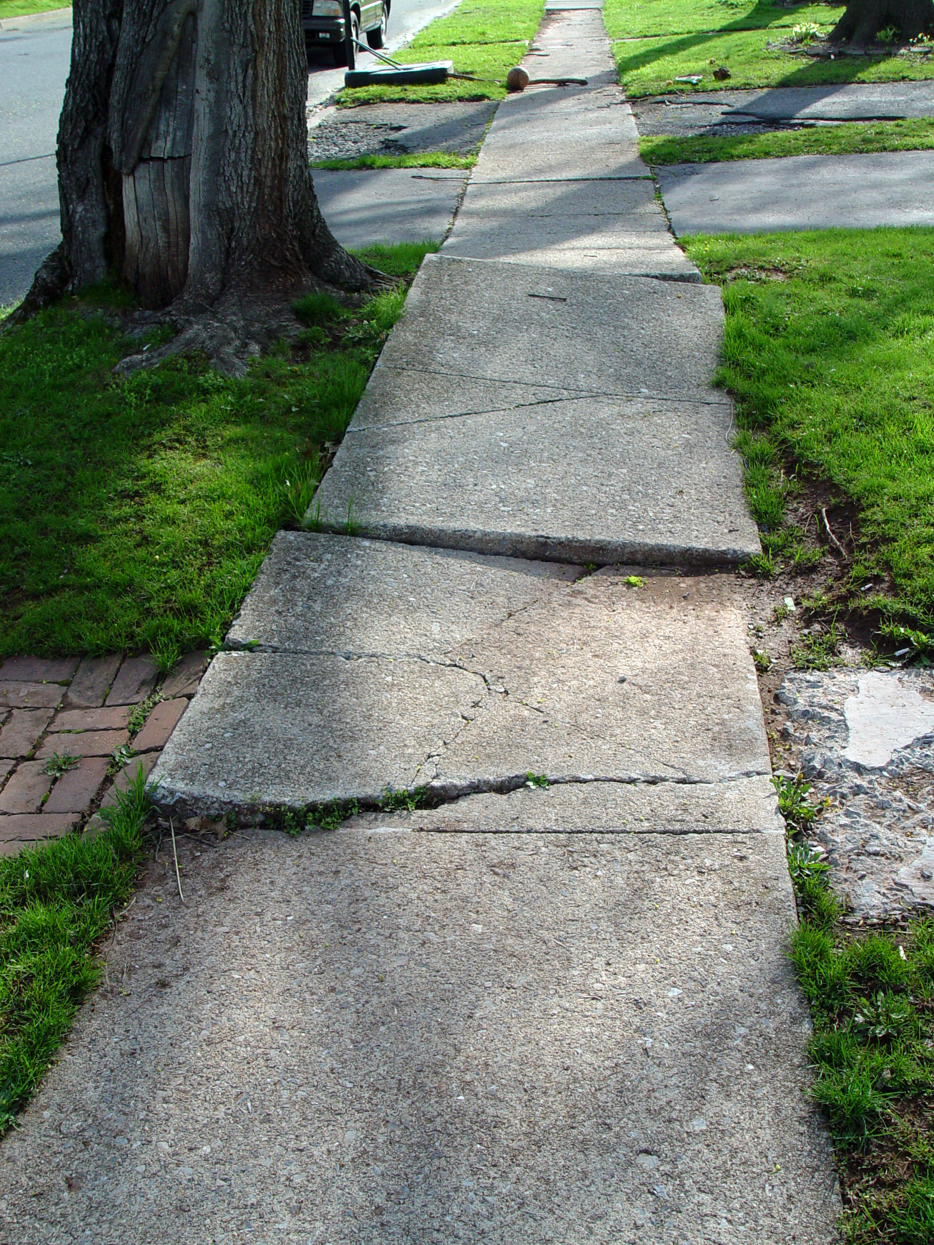 Ada Title Ii Maybe Sidewalks Arent Services After All Series Circuit Thinglink Sidewalk Cracked2