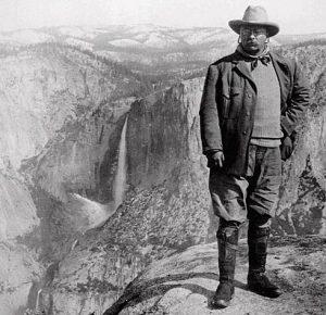 President Theodore Roosevelt at Yosemite