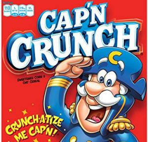 Picture of Cap'n Crunch cereal box