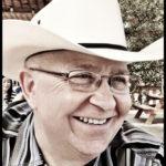 Richard Hunt in a cowboy hat
