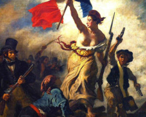 Delacroix painting Liberty Leading the People
